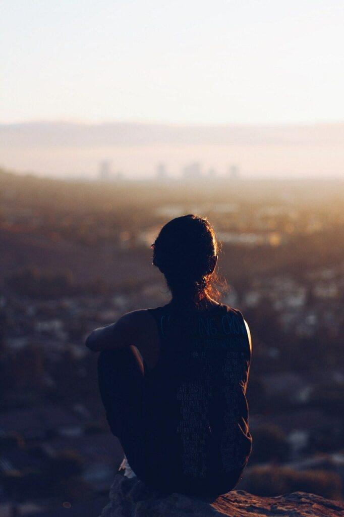 relax, alone, meditate